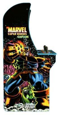 Marvel Superheroes Retro Arcade 1up Arcade Machine 1up 4ft Jeu Vidéo 3in1