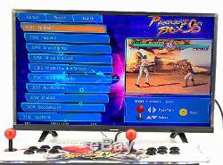 Métal 3160 Jeux Pandora Box 9s Double Sticks Retro Arcade Console De La Machine 60 3d