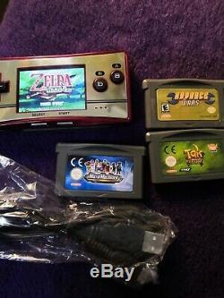 Micro Gameboy Nintendo Famicon Rétro Console Et Jeux