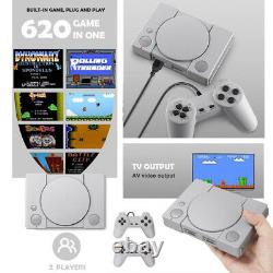 Mini Ps1 Style Retro Games Console Sony Playstation 620 Built-in Games Mario Uk