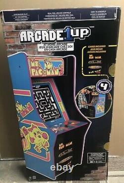 Mme Pacman Arcade Machine Retro Arcade Cabinet Arcade 1up New 4 Jeux Brand New