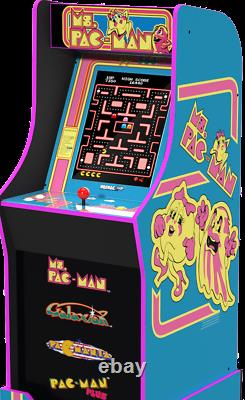 Mme Pacman Arcade Machine Retro Arcade Cabinet Arcade 1up Nouveaux 4 Jeux Marque Nouvelle