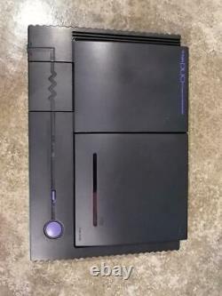 Nec Pc Engine Duo Turbo Duo Console System Pi-tg8 Rétro Console De Jeu Noir Utilisé