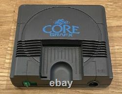 Nec Pc Moteur Core Grafx Console & 13 Jeux Joblot Testé Retro Gaming Gratuit P&p
