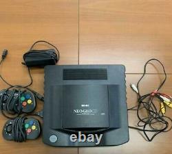 Neo Geo CD Console Controller Snk 1994 Retro Jeu Vidéo Made In Japan