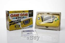 New Sega Game Gear Console Rare Limitee Original De Travail Retro Vintage Testée