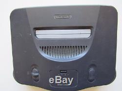 Nintendo 64 N64 Console De Jeux Vidéo 4 Contrôleurs Oem Super Smash Bros Retro