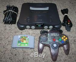 Nintendo 64 N64 Jeu Console Bundle Système Contrôleur Oem Lot Retro Super Mario