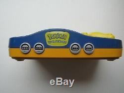 Nintendo 64 N64 Pokemon Pikachu Retro Console De Jeux Vidéo 2 Contrôleurs Super Fun