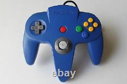 Nintendo 64 N64 Pokemon Pikachu Système De Console De Jeu Super Rare Retro Kids Nes