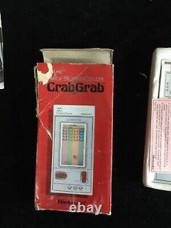 Nintendo Crab Grab Jeu Et Montre Rare Rétro Console