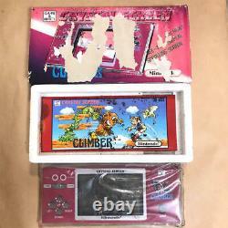 Nintendo Crystal Screen Climber Game Watch Version Anglaise Rare Retro Nouveau