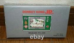 Nintendo Donkey Kong Jr Game And Watch Dj-101 1982 Vintage Rétro Nouveau