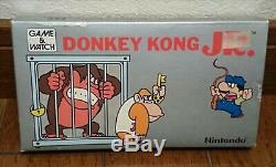 Nintendo Donkey Kong Jr Jeu Et Voir Dj-101 1982 Vintage Rétro Nouveau