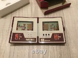 Nintendo Game And Watch Mario Bros Mw-56 1983 Retro Games Console