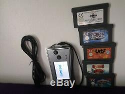 Nintendo Game Boy Micro Argent Console Rétro Fifa