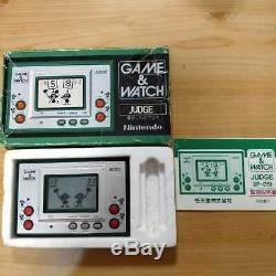 Nintendo Game Regarder Le Juge Vert Ver. Jeu Retro Testé Avec Boîte Et Le Manuel Rare