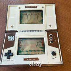 Nintendo Game & Watch Donkey Kong 2 Multi Screen Console Rétro Vintage Rare Utilisé