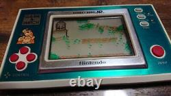 Nintendo Game & Watch Donkey Kong Jr Dj-101 Console Rétro Japonaise Vintage Rare