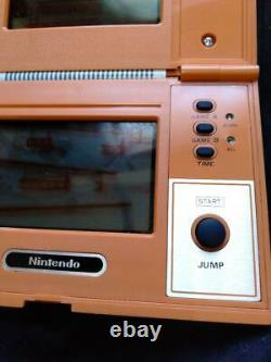 Nintendo Game & Watch Donkey Kong Multi Screen Console Rétro Vintage Rare Used