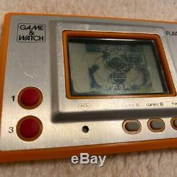 Nintendo Game & Watch Flagman Fl-02 1980 Drapeau Man Rétro Très Rare Au Japon
