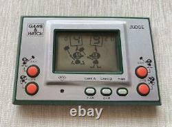 Nintendo Game & Watch Juge Ip-05 Jeu Et Montre Appareil Rétro Jeu Utilisé Testé