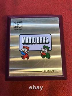 Nintendo Game & Watch Mario's Mario Bros. Console Portable Vintage Retro Rare