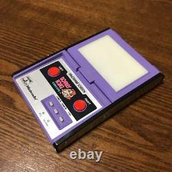 Nintendo Game Watch Panorama Écran Donkey Kong Circus Rare Testé Retro