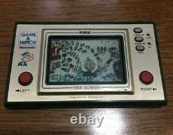 Nintendo Game & Watch Popeye Large Japonais Rétro Console Système Portable Rare Jp