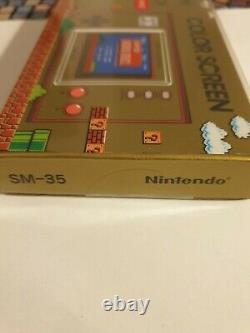 Nintendo Game & Watch Super Mario Bros 35e Anniversaire Nouveau Hongkong Taiwan