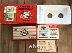 Nintendo Game&watch Mikey&donald Disney Multi Écran Japon Retro Game Boxed