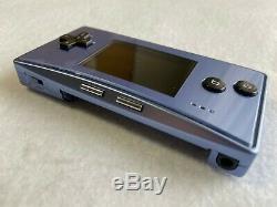Nintendo Gameboy Micro Bleu Console De Jeux Vidéo Au Japon Handheld Fedex