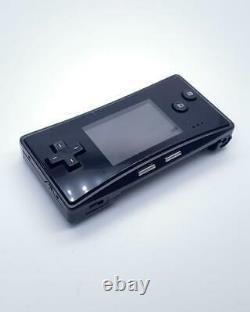 Nintendo Gameboy Micro Jeu Vidéo Black Japon Console Portable Fedex