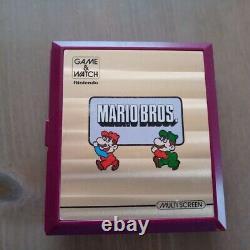 Nintendo Jeu & Regarder Multi Écran Mario Bros. Jeux Rétro Rare Vintage 1983