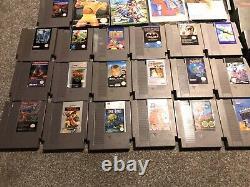 Nintendo Nes Action Set Console + 23 Jeux Joblot Bundle Gremlins Retro 80s Uk