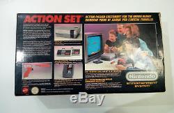Nintendo Nes Action Set Vintage Retro Système De Jeu Vidéo Console Pal 8bit Ita