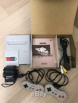 Nintendo New Famicom Console Av Hvc-101 Nes Retro Jeu Vidéo Boxed Japon