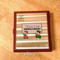 Nintendo Retro Goods Game & Watch Mario Brothers Mw-56 De Japan