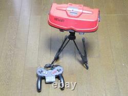 Nintendo Virtual Boy System Console Japonais 1995 Retro Game Junk Pour Pièces