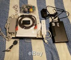 Nintendo Wii Bundle Wii Gamecube Modded Ps1 & Retro Games 2 To
