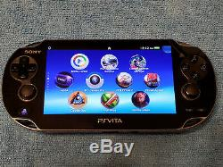 Noir Ps Vita Playstation Vita Oled 128go (psp, Ps1, Jeux Rétro)