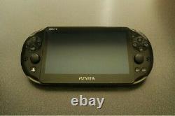 Noir Ps Vita Slim 64 Go Avec Tous Les Jeux Vita Et Rétro