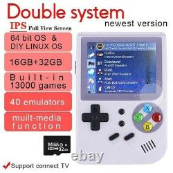 Nouveau Bittboy Playgo V3.5 Vidéo Rétro Game Handheld Console Gameboy Ps1 Emulator
