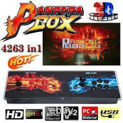 Nouveau Pandora Box 20s 4263 Jeux Vidéo Rétro Jeu Double Bâton Arcade Console Cadeau
