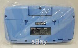 Nouveau Sega Game Gear Console Rare Hgg-3211 Bleu Testé Retro Vintage Japon Gg