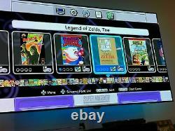 Nouveau Super Nintendo Snes Classic Mini Retro Avec 21 Jeux & 2 Contrôleur Uk Seller