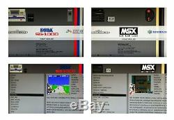 Odroid Xu4 Retro Games Console- 200 Ou 320 Go Puissant Arcade Machine- Kksb Case