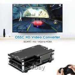 Ossc Retro Game Console Kit De Conversion Compatible Hdmi Pour Ps2 Ps1 Xbox Sega #ky
