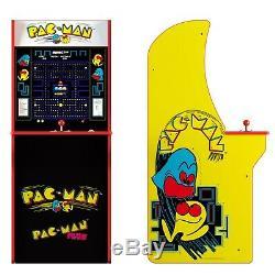Pacman Retro Arcade 1up Machine, Arcade1up, 4ft Cabinet Jeu Vidéo Cabine 2 Jeux
