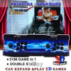 Pandora Box 12 3188 Dans 1 Family Game 4player Retro Console Hd 3d Vga Fr Portable
